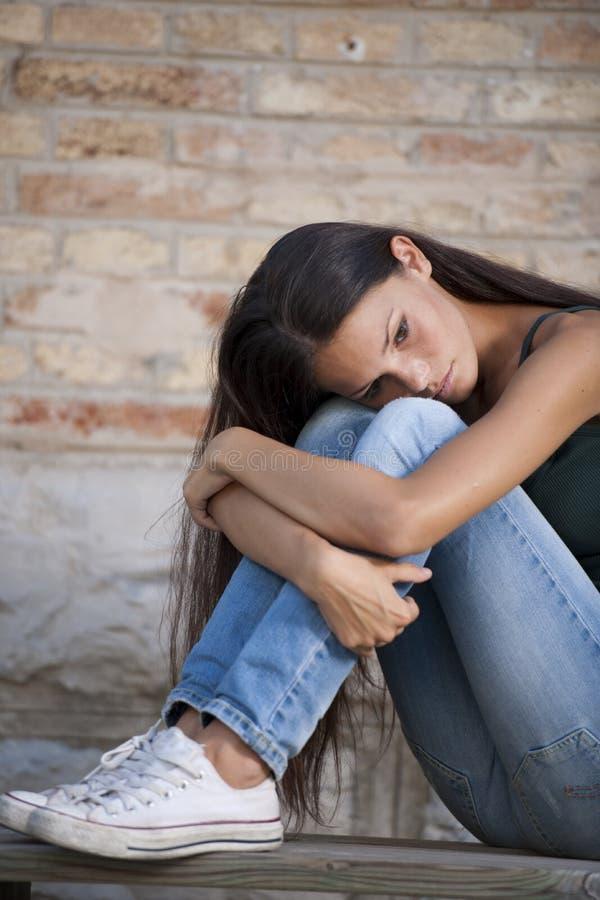 Problèmes d'adolescents image stock