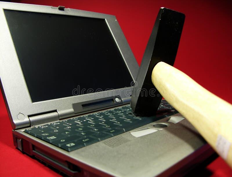 Download Problèmes d'ordinateur image stock. Image du marteaux, marteau - 71751