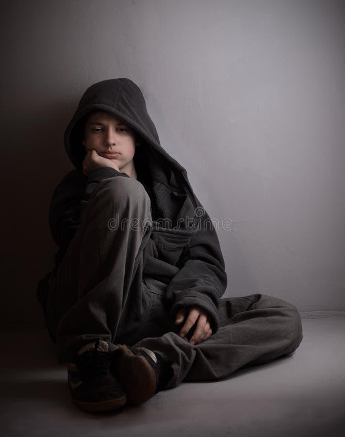 Problèmes des adolescents photographie stock libre de droits
