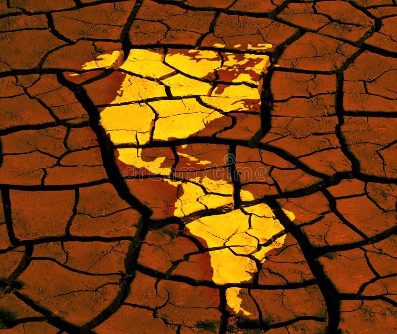 Problèmes environnementaux illustration stock