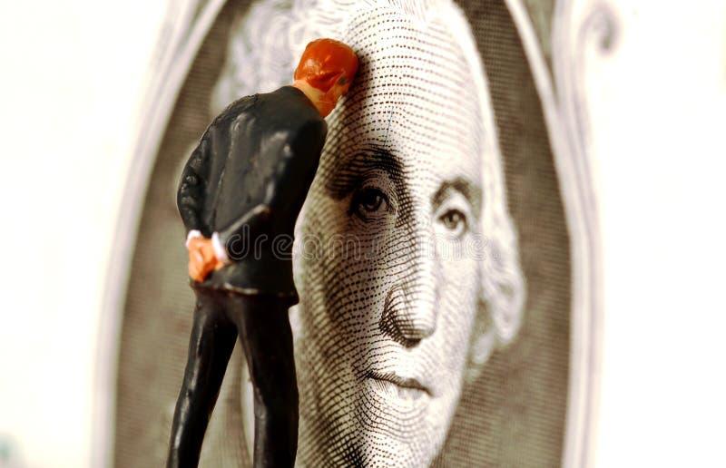 Problèmes financiers images libres de droits