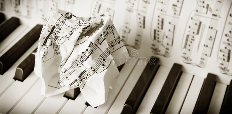 Probleem dat met piano? speelt royalty-vrije stock foto