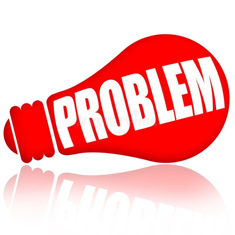 Probleemconcept vector illustratie