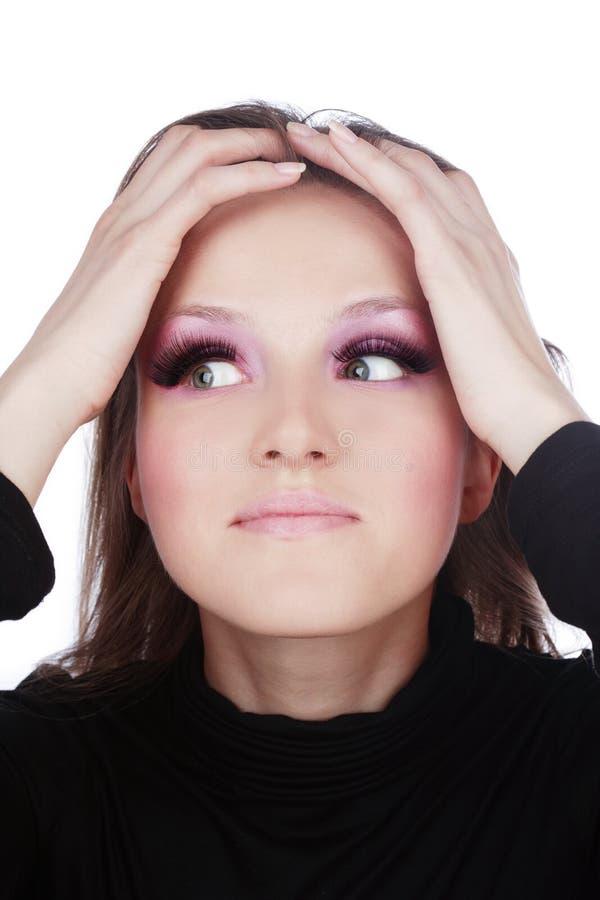 Download Problem stock image. Image of lovely, eyelashes, lashes - 4819005