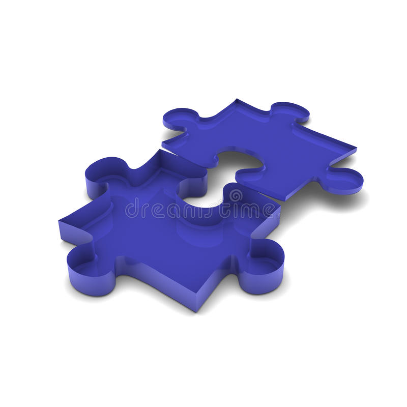 Download Problem inside puzzle stock illustration. Image of abstract - 24923318