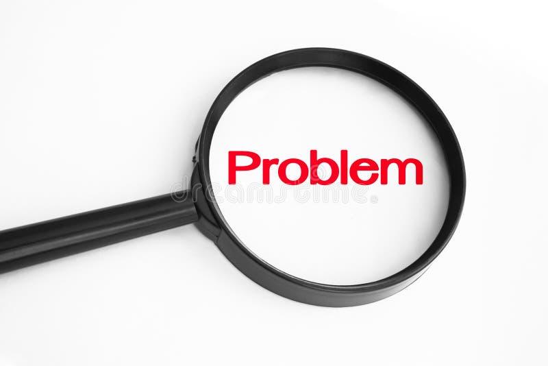 Problem-Konzept-Hintergrund stockfotografie