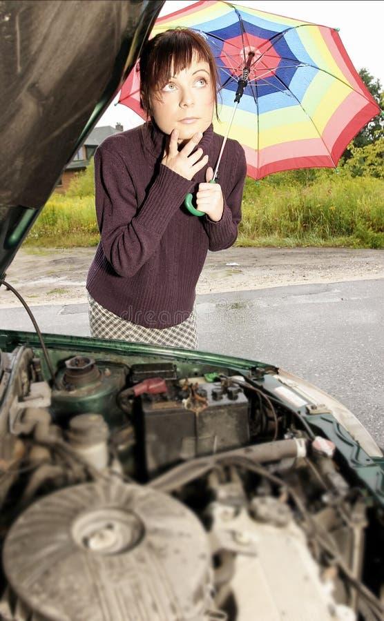 problem samochodu zdjęcie royalty free