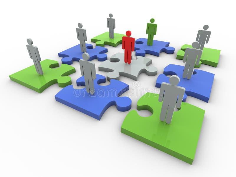 Download Problem solution stock illustration. Illustration of jigsaw - 21260697