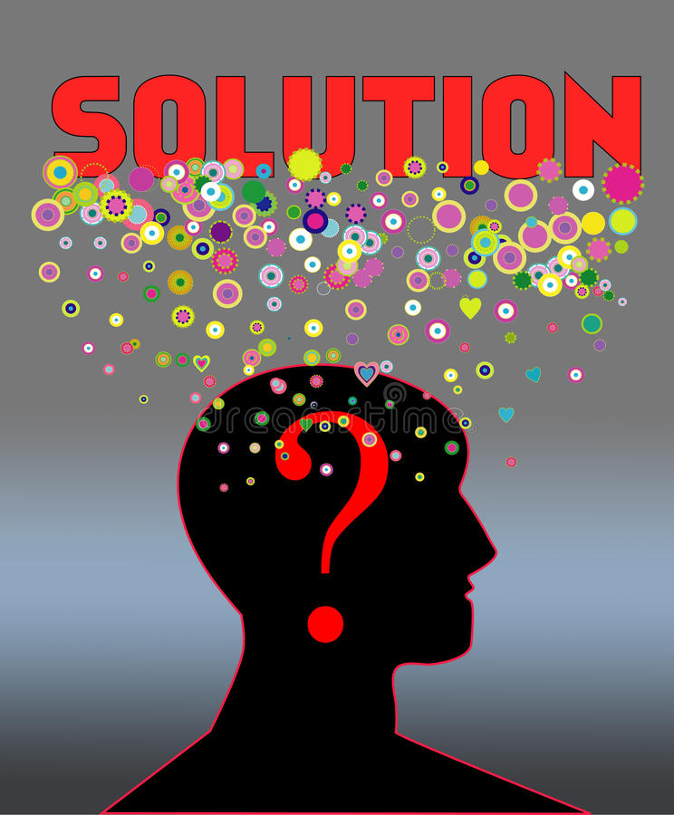 Download Problem And Solution Concept Stock Vector - Image: 24310455