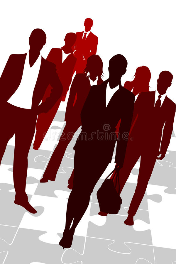 Problem Solving Business Team Stock Photo