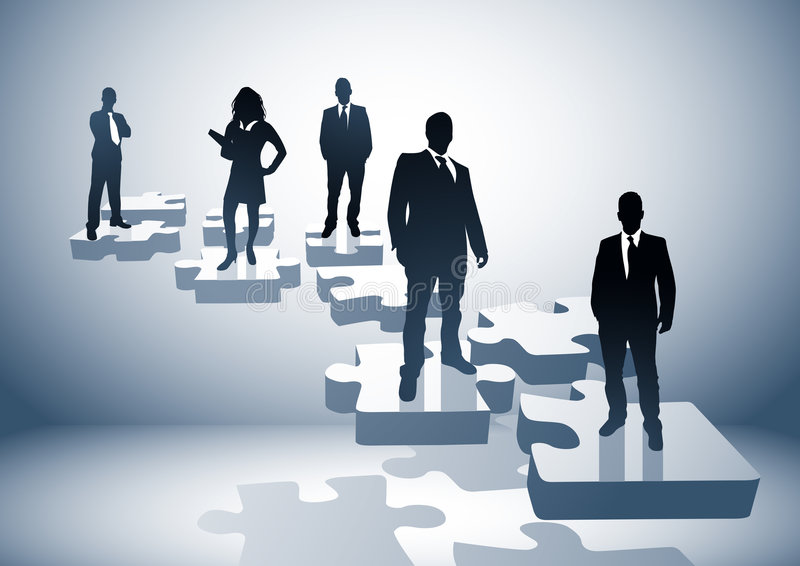Download Problem Solving Team Royalty Free Stock Image - Image: 4897846