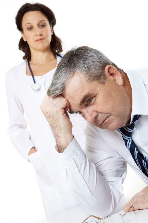problem zdrowotny obrazy stock