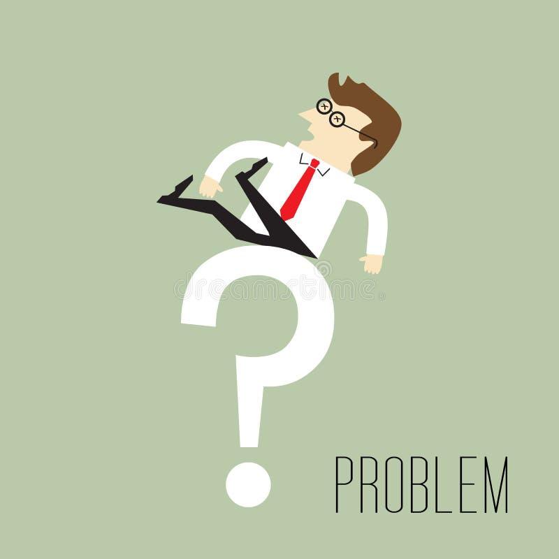 Problema stock de ilustración