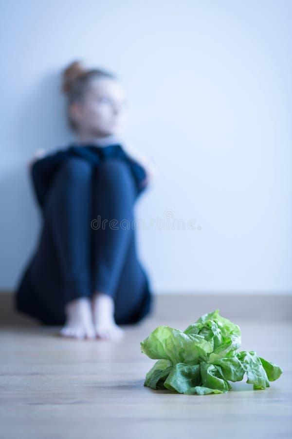 Problema da anorexia fotos de stock royalty free