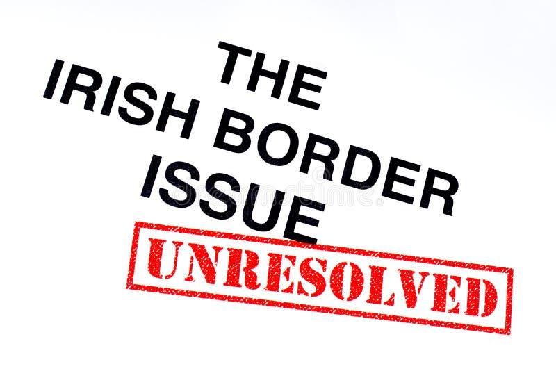 Problema de frontera irlandés sin resolver libre illustration