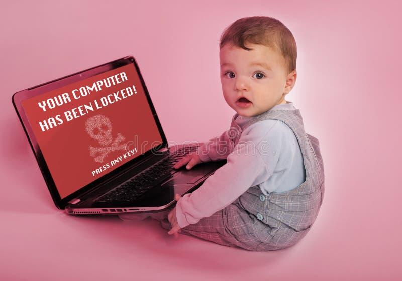 Problema de Ransomware fotografia de stock royalty free