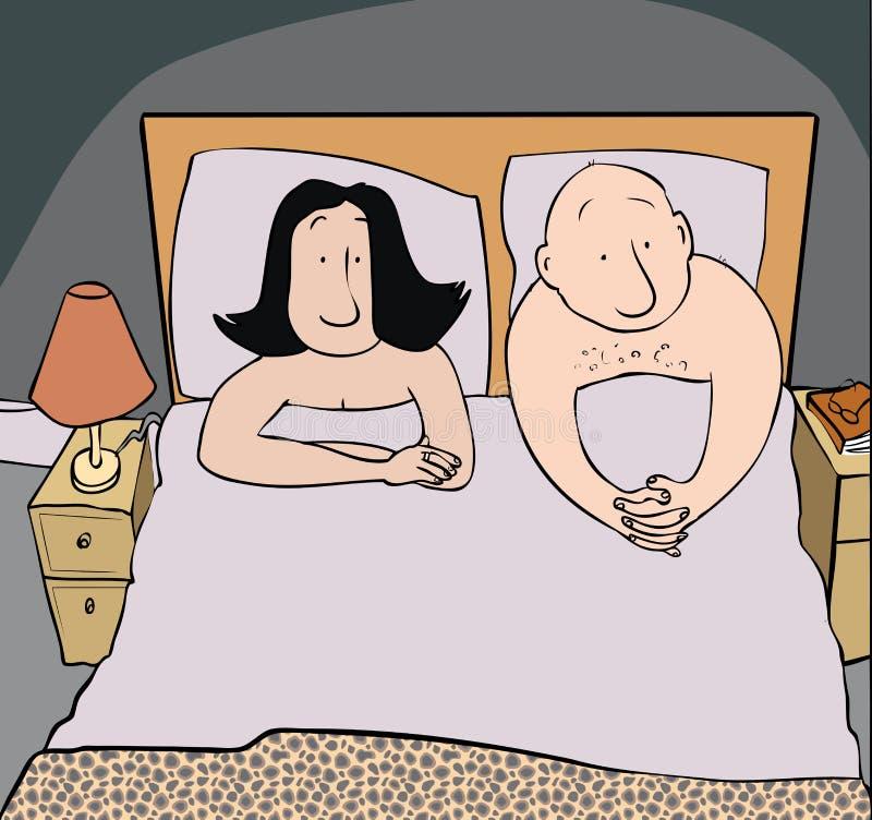 Problema della camera da letto royalty illustrazione gratis