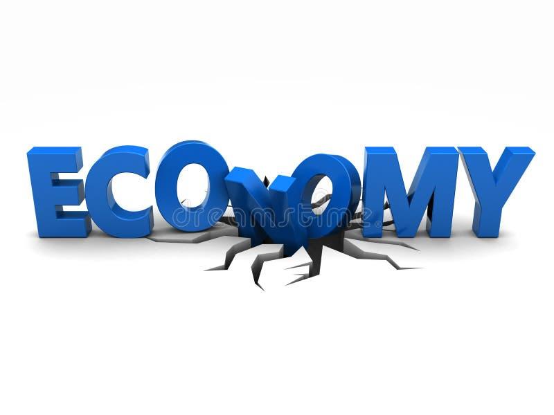 Problema económico stock de ilustración