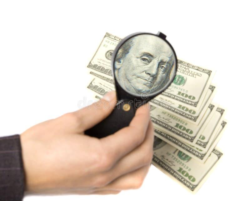 Problema financeiro. Dinheiro do negócio global foto de stock royalty free