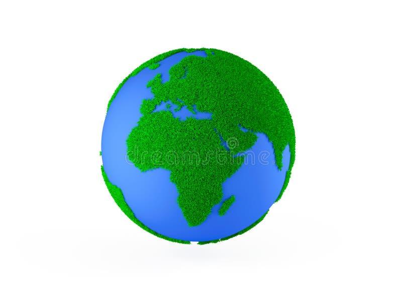 Problemas ambientais globais ilustração do vetor