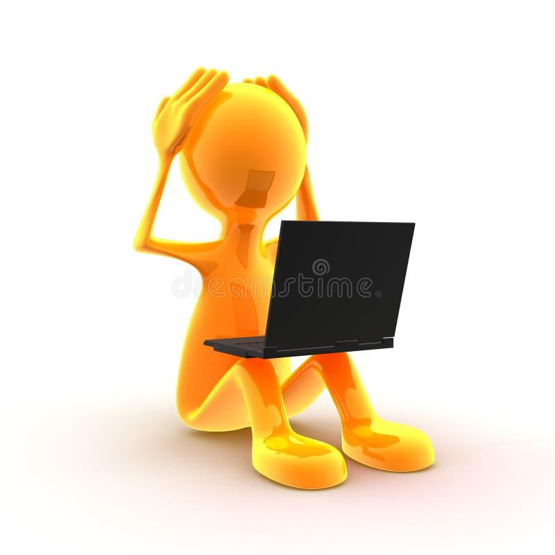 Problemas del ordenador libre illustration