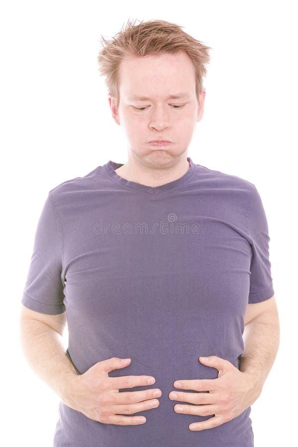 Problemas digestivos imagenes de archivo