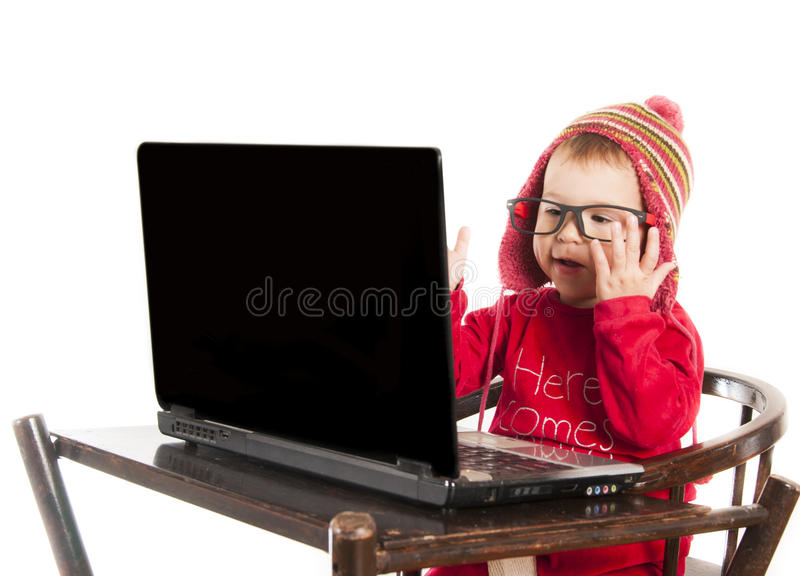 Problemas do computador imagens de stock