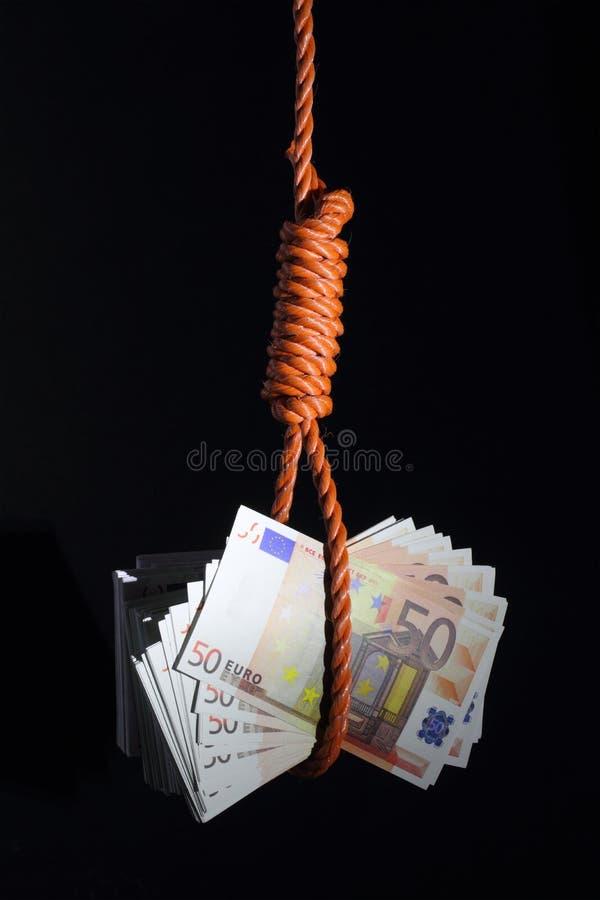 Problemas económicos imagen de archivo