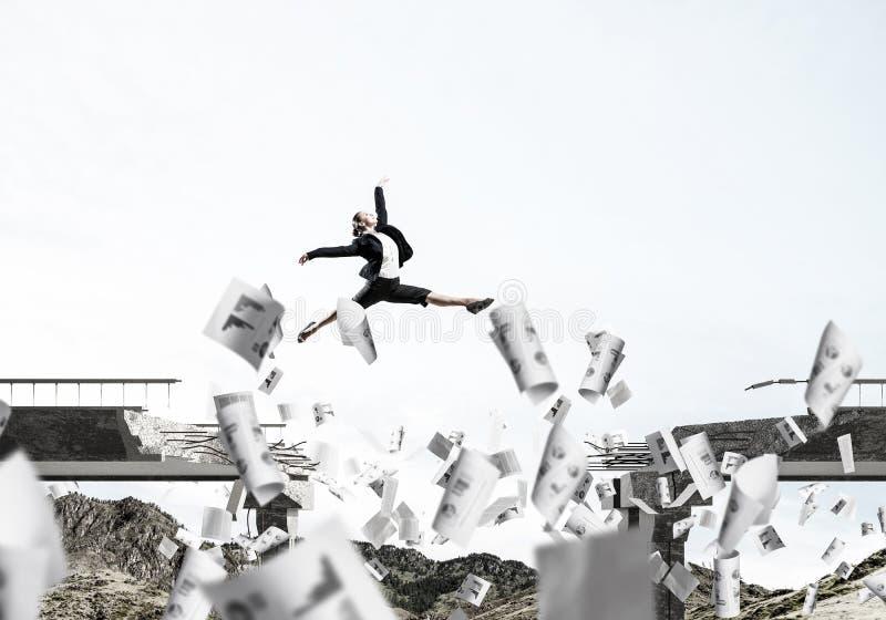 Problemas y dificultades que superan concepto imagen de archivo libre de regalías