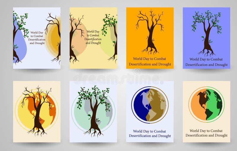 Problemi ambientali globali ENV 10 illustrazione di stock