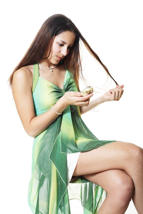 Problemi dei capelli fotografia stock