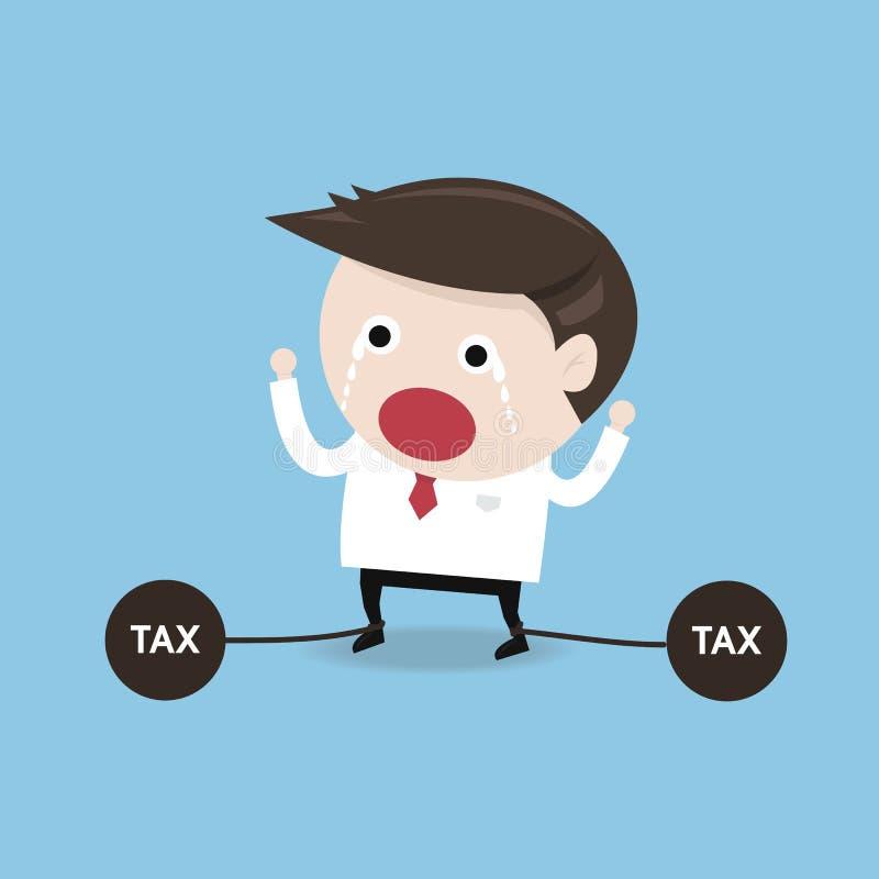 Problemi di imposta, progettazione piana royalty illustrazione gratis