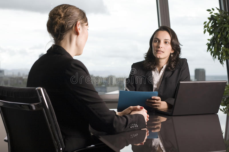 Problems with bank loan royalty free stock image