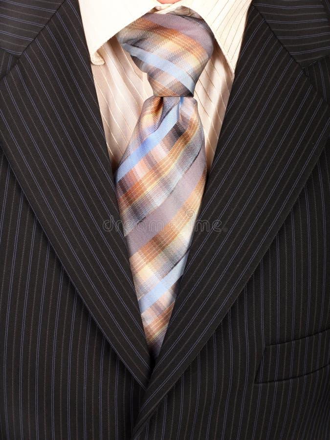 Procès avec la cravate. Fond. images stock