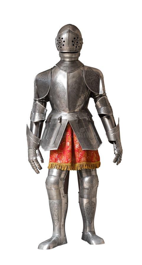 Procès d'armure de chevalier photographie stock libre de droits