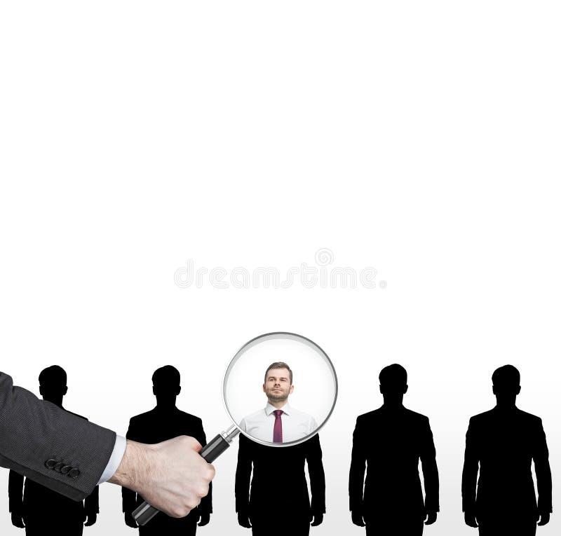 Procedimento do recrutamento foto de stock royalty free