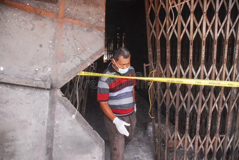 PROCEDIMIENTO DE DIRECCIÓN COMÚN DEL DESASTRE DEL ASIÁTICO imagen de archivo libre de regalías