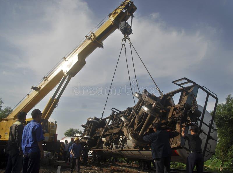 PROCEDIMIENTO DE DIRECCIÓN COMÚN DEL DESASTRE DEL ASIÁTICO imágenes de archivo libres de regalías