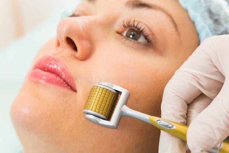 Procedura cosmetica medica fotografia stock