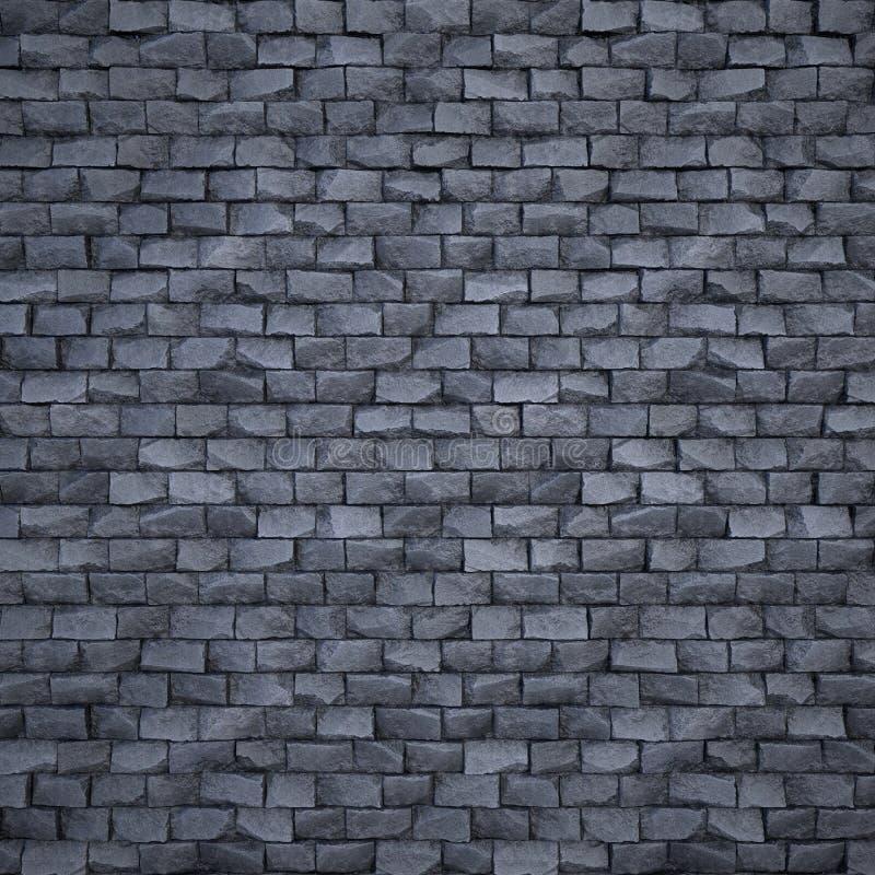 Proceduralna stylizowana ściana z cegieł fotografia royalty free