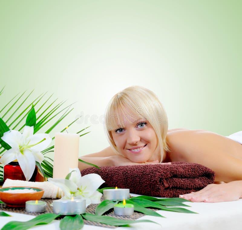 procedure spa νεολαίες γυναικών στοκ φωτογραφία με δικαίωμα ελεύθερης χρήσης