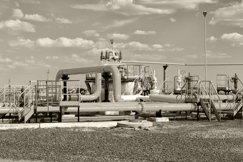 proces gaz jednostka obrazy stock