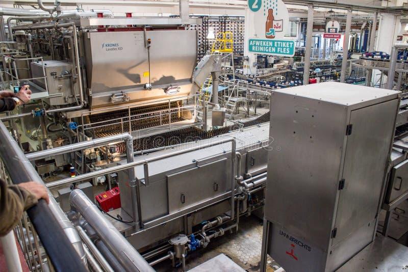 proces produkcyjny piwo fabryki technologiczne obrazy stock