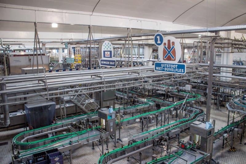 proces produkcyjny piwo fabryki technologiczne fotografia stock