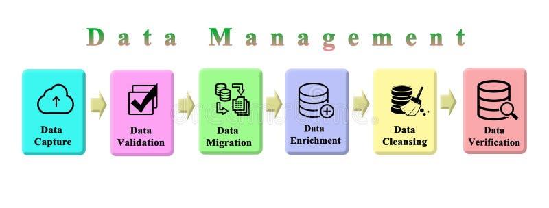 Proces zarządzanie danymi ilustracji
