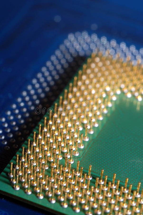 Procesador 02 del ordenador imagen de archivo