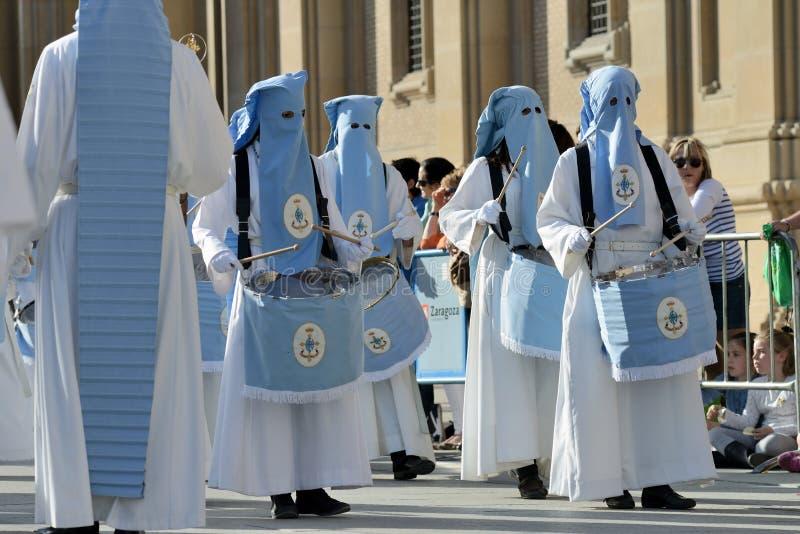 Procesión del Viernes Santo, España imágenes de archivo libres de regalías