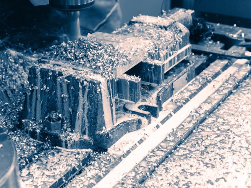 Proceso metalúrgico que muele foto de archivo libre de regalías