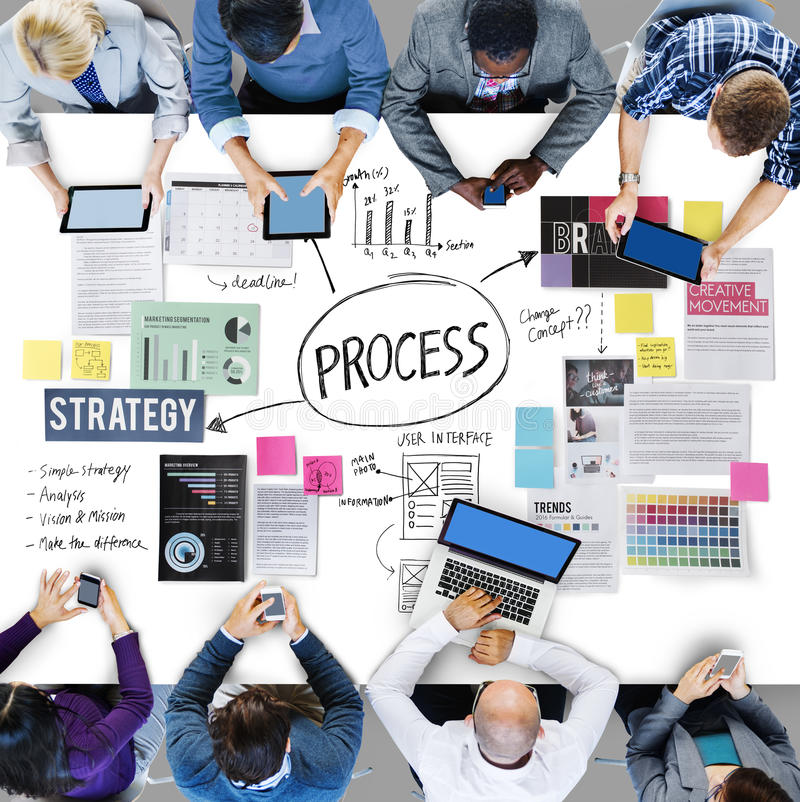 Process Action Activity Practice Procedure Task Concept. Process Action Activity Practice Procedure Concept royalty free stock photo