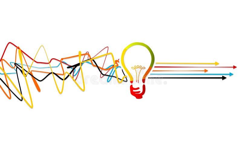 Process solving vector illustration
